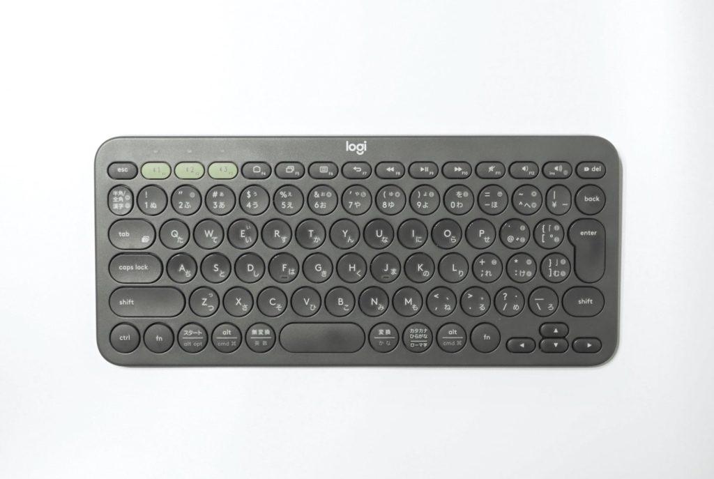 ロジクールのワイヤレスキーボードK380