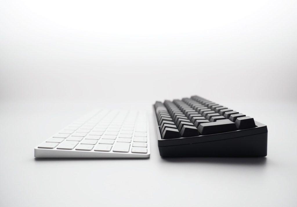 HHKBとMagic Keyboard