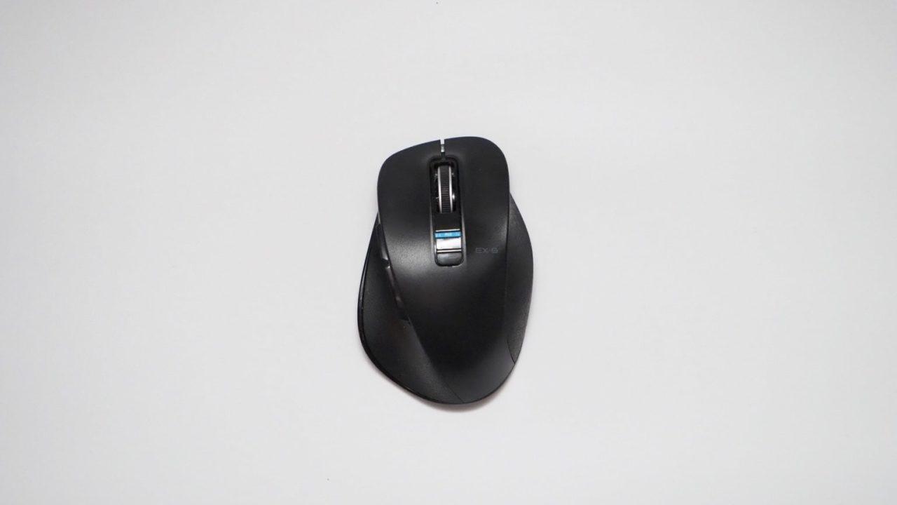 エレコムのワイヤレスマウス